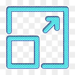Expand button icon Expand icon Web application UI icon