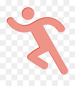 Runner icon Run icon Humans icon