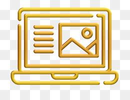 Copywriting icon Laptop icon Article icon