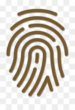 Fingerprint icon Basic icons icon