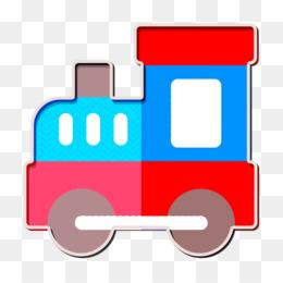 Amusement Park icon Train icon
