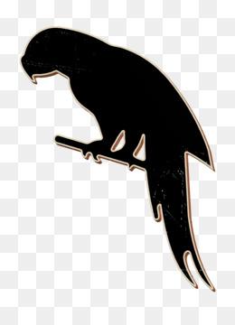 Parrot shape icon animals icon Animal Kingdom icon
