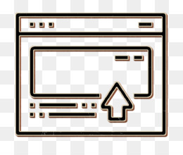 Digital Advertising icon Web page icon Site icon