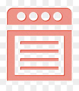 Oven icon Kitchen icon