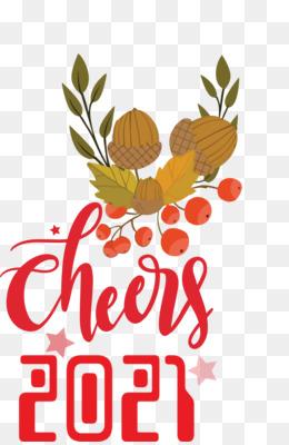 Cheers 2021 New Year Cheers.2021 New Year