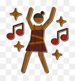 Dancing icon Discotheque icon Girl icon