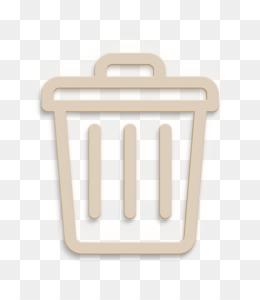 Garbage icon UI interface icon Trash icon