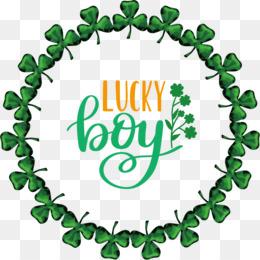 Lucky boy Patricks Day Saint Patrick