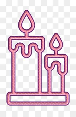 Restaurant Elements icon Candles icon