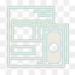 Invoice icon Bill icon Market and economy icon