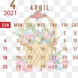 April 2021 Printable Calendar April 2021 Calendar 2021 Calendar