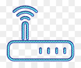 Communication and media icon Connection icon Modem icon