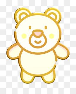 Plush toy icon Amusement Park icon Bear icon