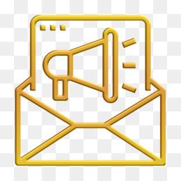Digital campaign icon Email icon Digital Marketing icon