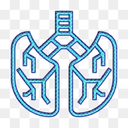 Lungs icon Human organs icon Lung icon