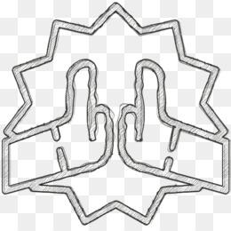 High five icon Trust icon Friendship icon