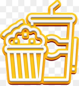 Popcorn icon Party icon