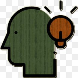 Brain icon Editorial Design icon Idea icon