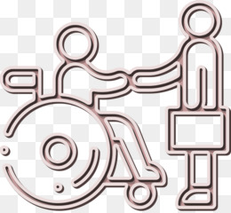 Job icon Wheelchair icon Disabled People icon