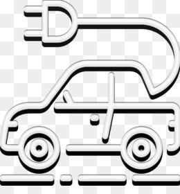 Electric car icon Ecology icon