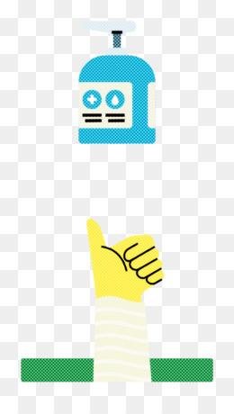gel soap hand